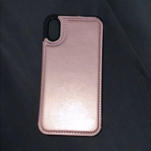 iPhone XR wallet phone case
